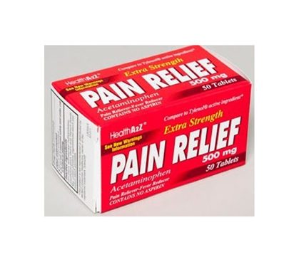 Pain Relief Tablets - Acetaminophen Pills