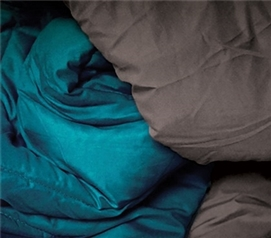 Granite Gray/Ocean Depths Teal Reversible College Comforter - Twin XL