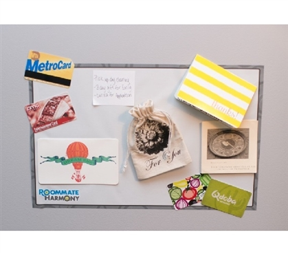 Self-Adhesive Dorm Bulletin Board College Supplies Must Have Dorm Items