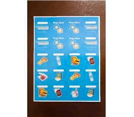 Food Labeling Stickers Dorm Necessities Cool Dorm Room Ideas