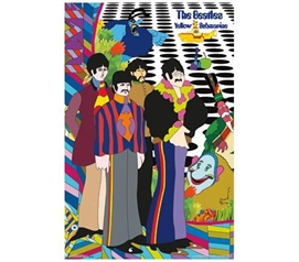 The Beatles - Cast and Crew Poster - Add College Dorm Posters