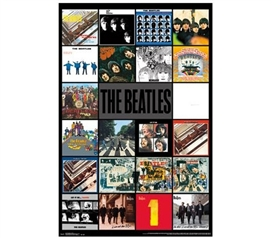 Decor For Dorms - The Beatles - Albums Poster - Cheap Dorm Stuff