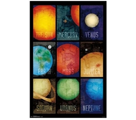 Buy Cheap Dorm Posters - Solar System 2014 Poster - Decorate Your Dorm