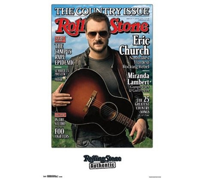 Decorate Your Dorm - Rolling Stone - Eric Church Poster - Fun Items For College