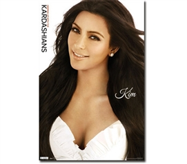 Add Kim's Smile - Kim Kardashian Poster - Decorate Your Dorm Room