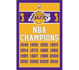 Poster For Lakers Fans - Lakers - Champions Poster - College Decorations For Sports Fans