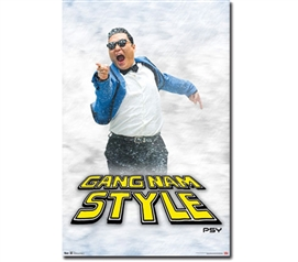 Wall Decor For College Dorms - Psy Point Poster - Decorate Your Dorm Room