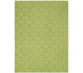 Enhance Your Dorm Decor - Lime Peace Rug - Gives A Boost Of Color