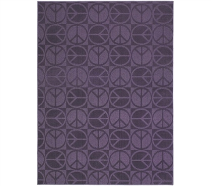 Purple Peace Rug