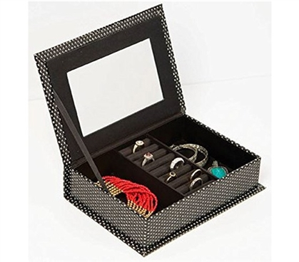 Slim Jewelry Box Dorm Room Storage Dorm Organization