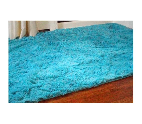 Teal Area Rug Turquoise Rug Soft Rug Bathroom By: College Plush Rug Dorm Room Decor Soft Comfortable Items