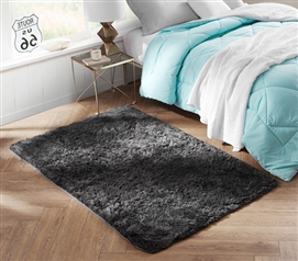 A Dorm Essential - College Plush Rug - Keep Feet Comfortable
