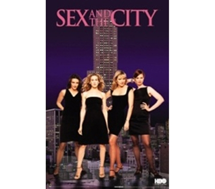 Sex & The City Girls College Dorm Poster girl dorm room decorating poster with sex and the city television series