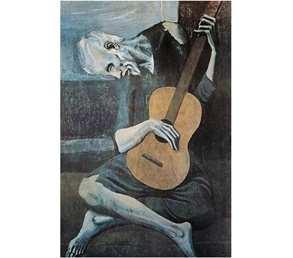 Picasso - Old Guitarist Poster