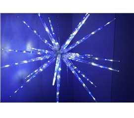Blue and White Starburst Dorm Light Dorm Room Decorations College Supplies