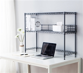 Suprima Desktop Metal Bookshelf - Gray