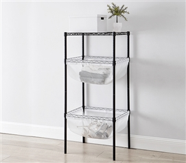 Suprima Mini Shelf Supreme - Bin Style - White Mesh
