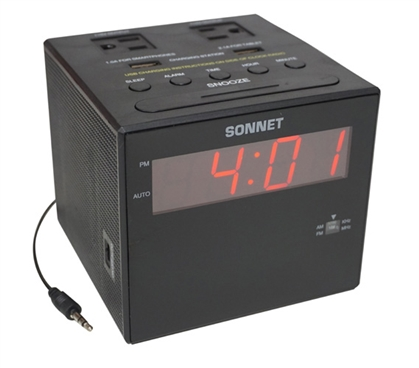 Power Station Dorm Alarm Clock