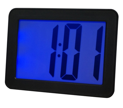 Battery Operated Large Number Dorm Alarm Clock