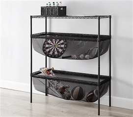 Suprima Shelf Supreme - Bin Style - Black Mesh