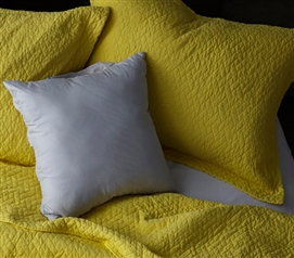 Softest Stone Washed Sham - Limelight Yellow