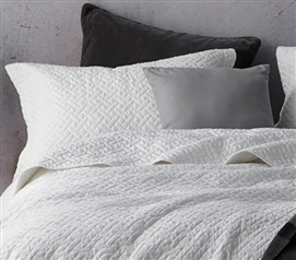 Softest Stone Washed Sham - White