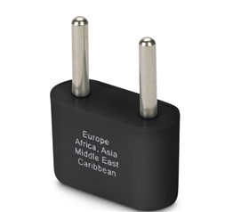 Europe and Asia Ungrounded Plug Adapter Must Have Dorm Room Gadgets