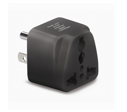 North American Grounded Plug Adapter Must Have Dorm Room Gadgets College Supplies