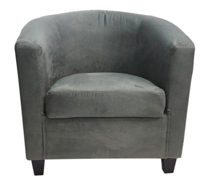 the contour college chair charcoal gray soft dorm seating. Black Bedroom Furniture Sets. Home Design Ideas