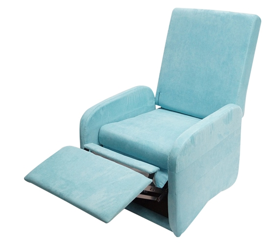the college recliner aqua dorm furniture. Black Bedroom Furniture Sets. Home Design Ideas