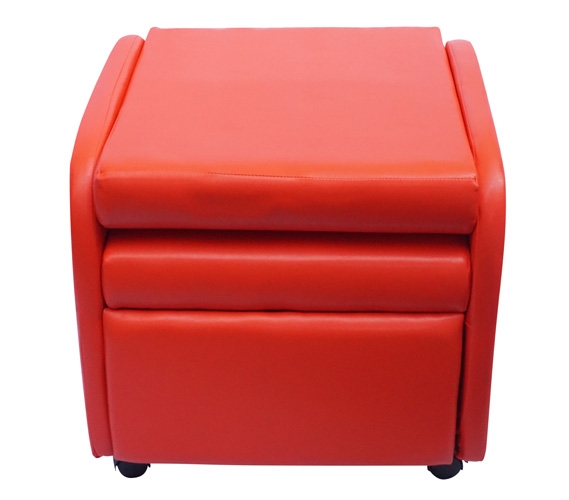 The College Recliner Folds Compact Red
