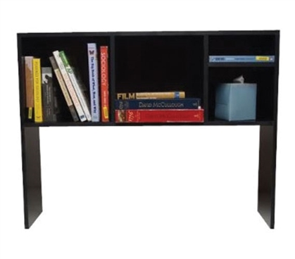 The College Cube - Dorm Desk Bookshelf - Black Dorm Essentials Dorm Room Decor