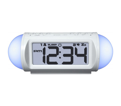 All Around Student Alarm Clock (Sound Machine, Mood Light & MP3 Player) - Needed Dorm Item