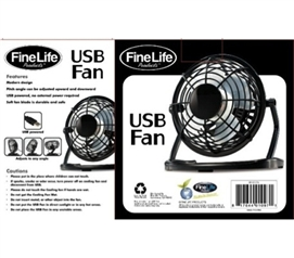 Can Be Used With Your Computer - Adjustable USB Cooling Fan - Great For Hot Weather