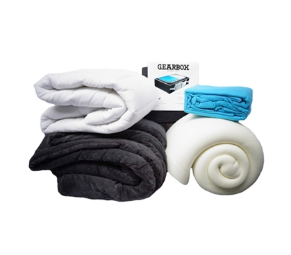 Top 5 Dorm Bedding Necessities Package - The Essentials