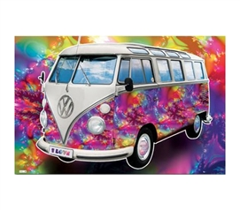 Buy Cheap Posters - VW Californian Camper - Love Poster - Decorate Your Dorm