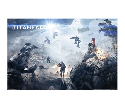 Best Posters For College - Titanfall Poster - Decor For College Dorms