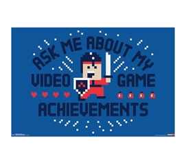 Decorate Your Dorm - Snorg Tees - Achievements Poster - Buy Dorm Posters