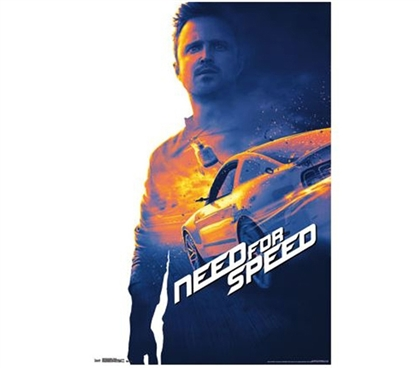 College Decor Essentials - Need For Speed Poster - Fun Dorm Stuff