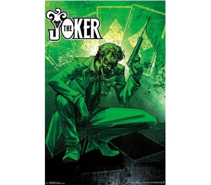 Unique Dorm Items - Fluorescent - Joker Poster - Decor For Dorm Rooms