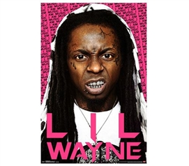Fun Stuff For Dorms - Lil Wayne - Snarl Poster - College Wall Decor