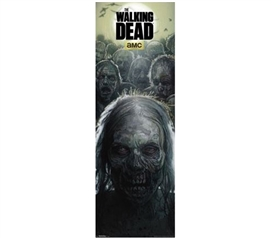 Shop For College - Door - Walking Dead - Zombies Poster - Decorate Your Dorm