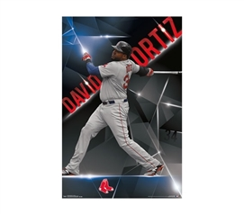 Boston Red Sox - Ortiz - College Dorm Posters Dorm Wall Art Dorm Room Wall Decorations