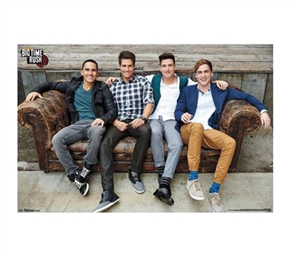 Shop For College - Big Time Rush - Couch Poster - Buy Dorm Posters