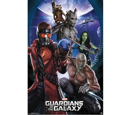 Guardians of the Galaxy - Group Poster - Best Dorm Supplies