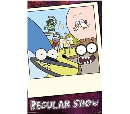 Fun Dorm Stuff - Regular Show - Snapshot Poster - Wall Decor For College
