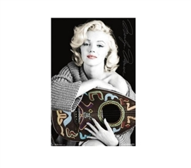 Decorate Your Dorm - Marilyn Monroe - Music Poster - Dorm Supplies