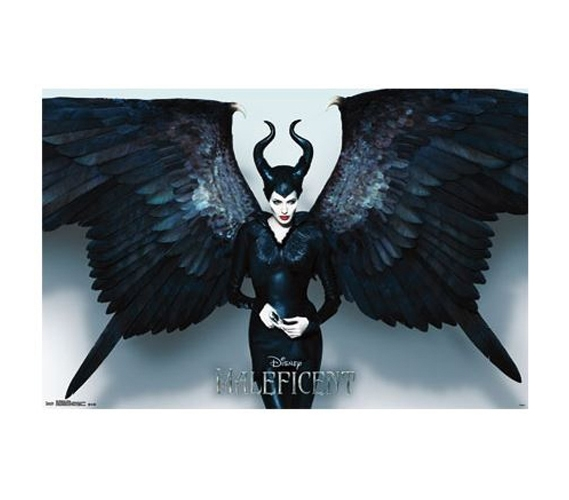 Maleficent Wings Poster Supplies For College Dorm Items