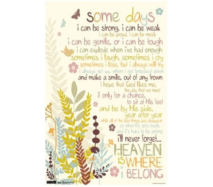 Best Wall Decor For College - Some Days Poster - Wall Decor For College