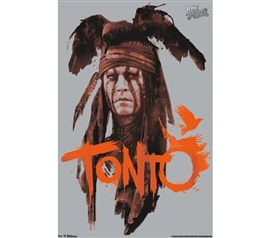 Cheap Dorm Stuff - The Lone Ranger - Tonto Poster - Decor For College